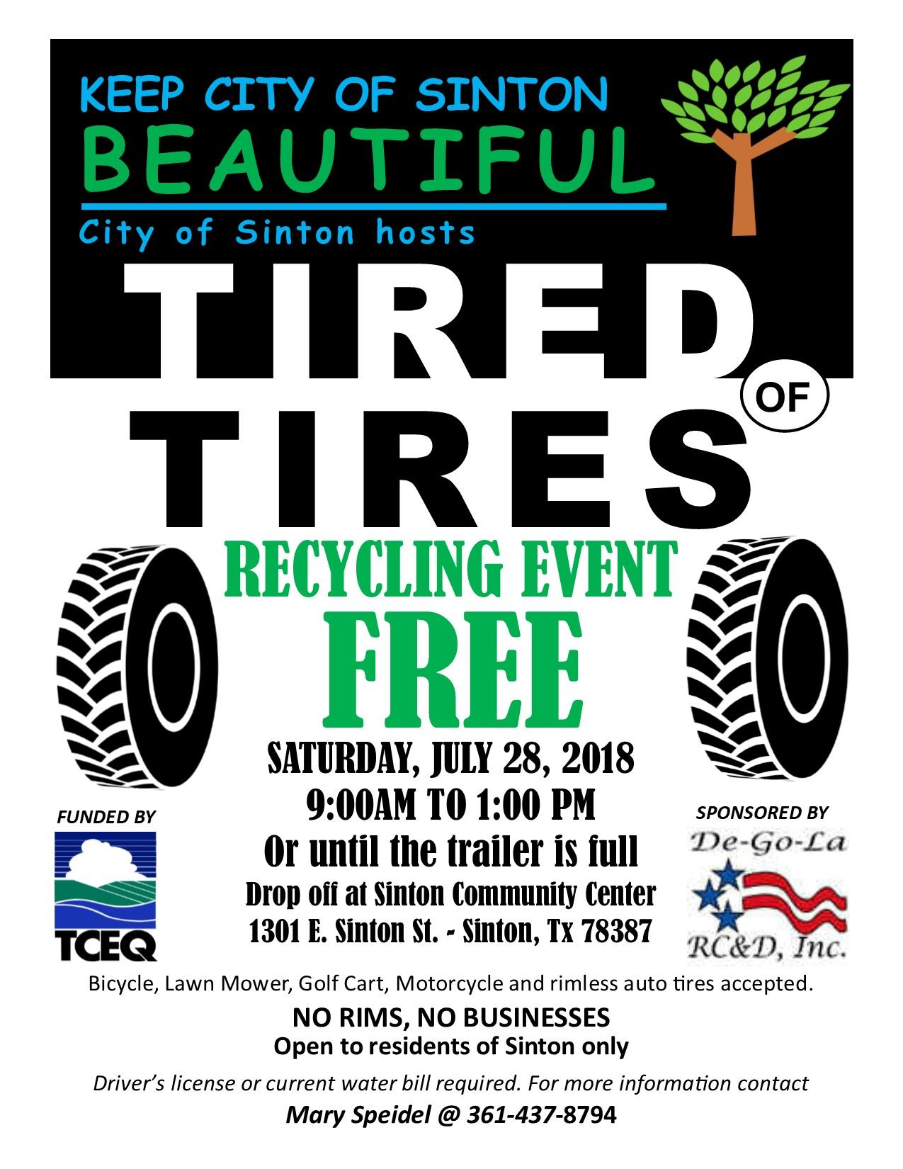 Tire Flyer Event